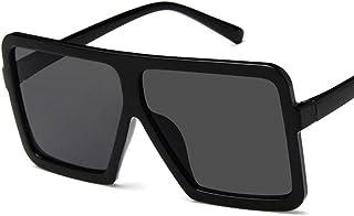 cf4365596c Losenlli Moda Grande Forma Cuadrada Mujeres Hombres Gafas de Sol UV400 Gafas  de Sol Gafas de