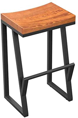 Bar Stool/Bar Chair/Simple Personality Retro Bar Chair Creative Wrought Iron Chair Home