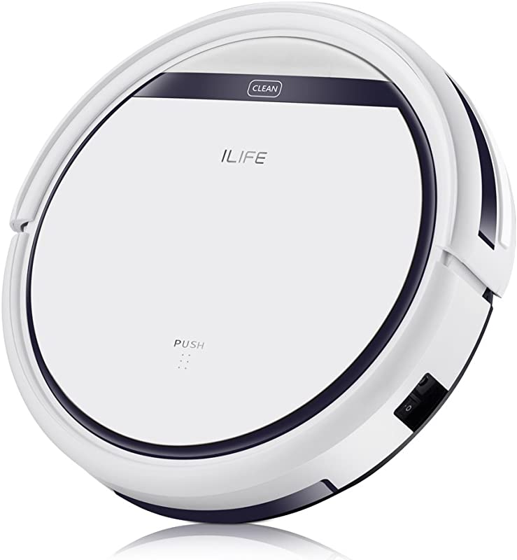 ILIFE V3s Pro Robotic Vacuum Pet Hair Care Powerful Suction Tangle Free Slim Design Auto Charge Daily Planning Good For Hard Floor And Low Pile Carpet Original Version