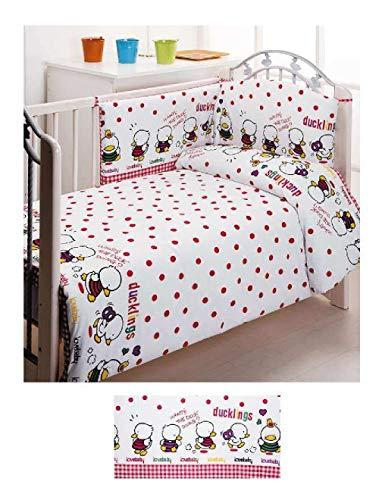 Duffi 1120-08 Baby Parure de lit 2 pièces avec housse de couette 110 x 140 cm