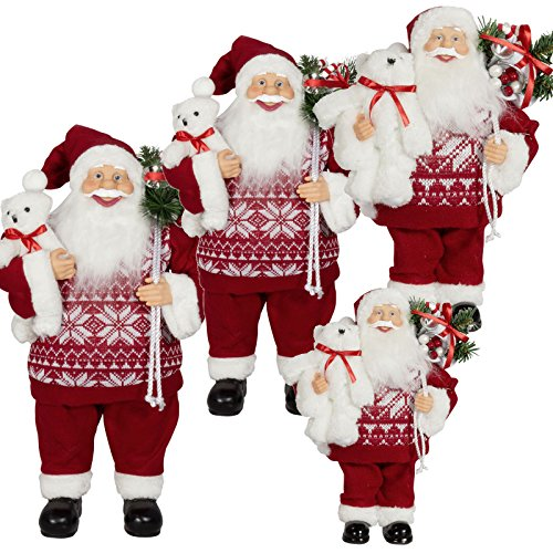 LD Kerstmis Deko 1pc 60cm Kerstman Deko Kerstmis Santa Clause figuur Groot Kerstmis (levertijd is 3-7 dagen)