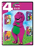 Barney 4 Movies Collection: Now I Know My Best Manners + Colourful World + Dino Dancin Tunes &...