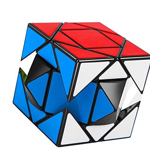 HJXDtech Creativo Irregular Velocidad del Rompecabezas del Cubo - Moyu Nueva Estructura de Cubo mágico - Caja de Pandora