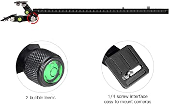 Jadpes Slr Camera Holder  Telephoto Zoom Lens Bracket Set Long Camera Support Quick Release Plate Bird Watching for Camera DSLR Canons and Other DSLR Flashes Studio F400-38