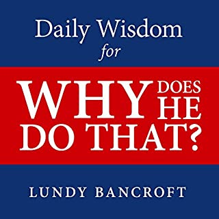 Daily Wisdom for Why Does He Do That? audiobook cover art