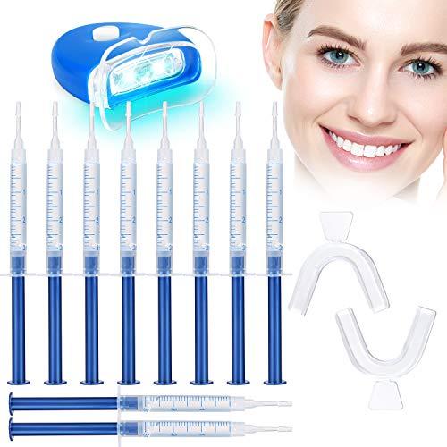Teeth Whitening Kit - No Sensitive 10 Teeth Whitening Gels with...