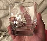 Destiny 2 Icons Ghost Logo Short Drinking Glass