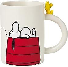 Troup's Peanuts Dimensional Snoopy and Woodstock Mug, 16.5 oz.