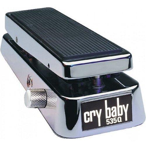 Jim Dunlop 535Q Multi-Wah Crybaby Effektpedal Chrom