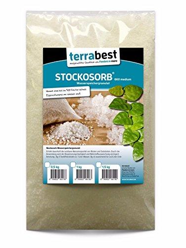 Terrabest, STOCKOSORB® 660 medium 500g Wasserspeicher Granulat, Wasserspeichergranulat, Watergel