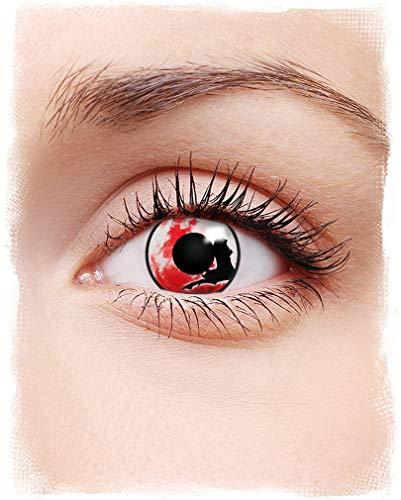 Horror-Shop Fledermaus Motiv-Kontaktlinsen