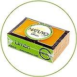 - Masque de savon Blanchissant NATUYO au CITRON.- Pour l'Acné, les Boutons, les Points Noirs, les Taches cutanées et le soin...