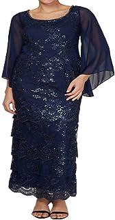 Brianna Women's Plus Size Capelet Sleeve