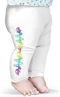 Baby Leggings Rainbow Squiggle Baby and Toddler Girls Leggings
