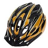 kyman Casco de Bicicleta, Bicicleta Casco de Ciclista Equipo for la conducción en Bicicleta Casco de ventilación portátil Accesorios Resistencia al Impacto (Color: D) (Color : B)