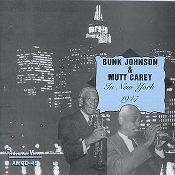 Bunk & Mutt in New York - 1947