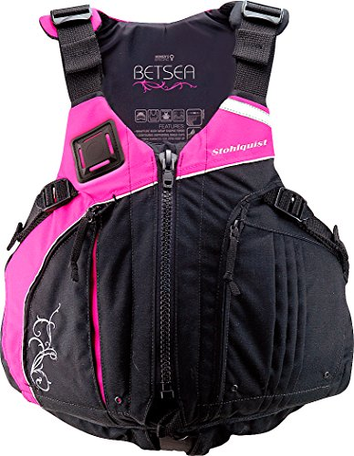 Stohlquist Women's Betsea Personal Floatation Device, Pink/Black, Small/Medium