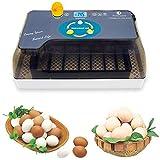 Incubatrice Egg Incubator Display Digitale Tratteggio Automatico 4-35 Adatto Solo per Pollo, Anatra, Uccello, Turchia, ECC.