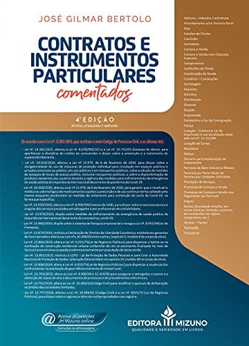 Contratos E Instrumentos Particulares Comentados - 4a.edição