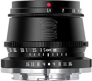 TTArtisan 35mm F1.4 カメラレンズ APS-C 手動焦点固定レンズ 富士Xマウント用 X-A10 X-A20 X-A3 X-A5 X-A7 X-M1 X-M2 X-H1 X-T10 X-T2 X-T20 X-T3 X-T30 ...