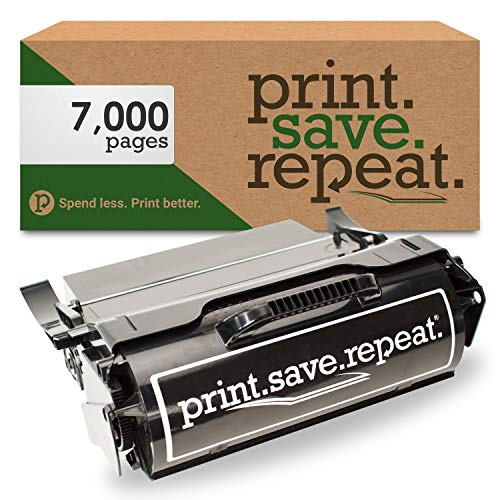 Print.Save.Repeat. Lexmark T650A11A Remanufactured Toner Cartridge for T650, T652, T654, T656 [7,000 Pages]