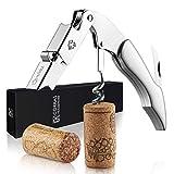 Corkas Cavatappi Professionali Apribottiglie Vino, Cavatappi da Sommelier, Cavatappi del Cameriere Apri Bottiglia Accessori del Vino e Regali