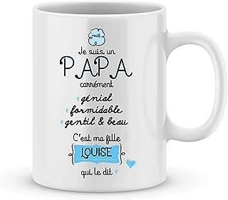 e5c65227f27a3 Cadeau fête des pères - mug à personnaliser avec votre prénom - idée cadeau  fête des