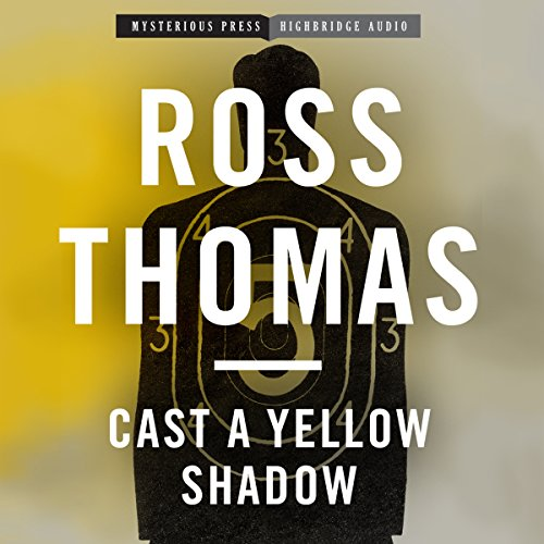 Cast a Yellow Shadow audiobook cover art