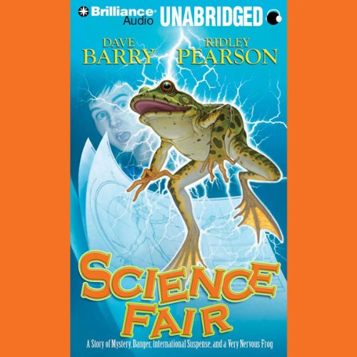 Science Fair audiobook cover art
