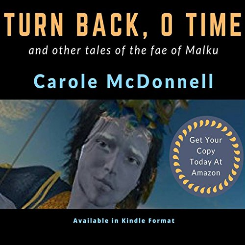 Turn Back, O Time audiobook cover art
