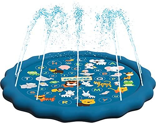 Children's Sprinkler Pool, 60'' Inflatable Water Toys