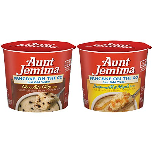 Aunt Jemima Pancake Cups Variety Pack 12 Pack Packaging May Vary