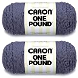 Caron One Pound Yarn - 2 Pack (Denim)