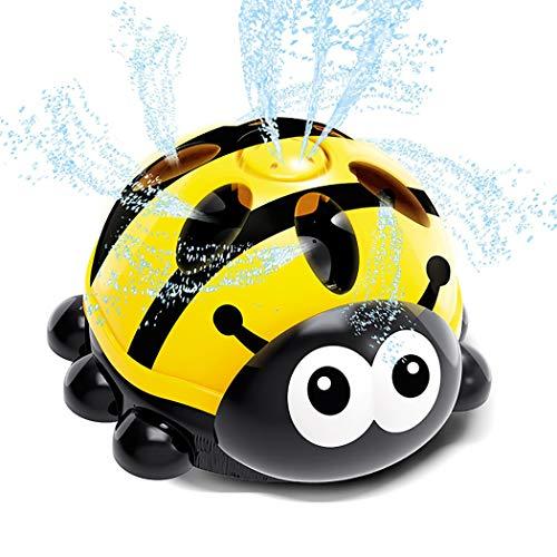 Fansport Garden Sprinkler Toy Cartoon Ladybug Juguete de baño Giratorio Juguete de pulverización de Agua para el Verano