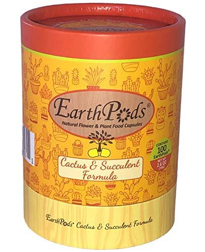 EarthPods Premium Cactus & Succulent Plant Food – Easy...