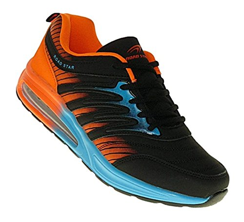 Bootsland 515 Neon Turnschuhe Sneaker Sportschuhe Herren Damen, Schuhgröße:43