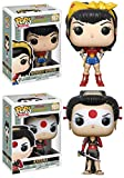 Funko POP! DC Comics Bombshells: Wonder Woman + Katana – Vinyl Figure Set NEW...