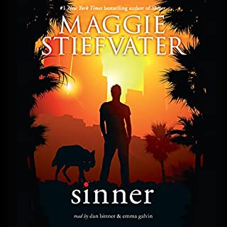 Sinner audiobook cover art