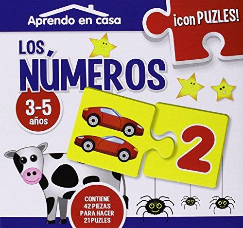 APRENDO EN CASA LOS NÚMEROS PUZLES EDUCATIVOS (3-5 años)