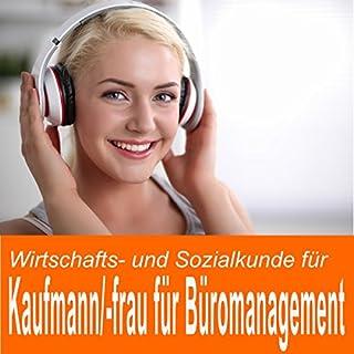 Wirtschafts- und Sozialkunde für Kaufmann / Kauffrau für Büromanagement Titelbild