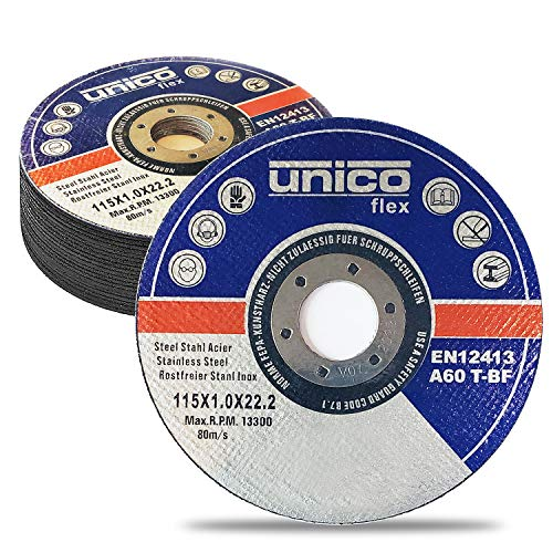 "Cutting Wheel 10 PCS Cut Off Wheel 4.5""x.040""x7/8"" Cut Off Wheels Cutting For Metal & Stainless Steel-Cutting Disc For Angle Grinders, 4-1/2"" x 1/16"" x 7/8"" Cutting Discs Ultra Thin Metal"