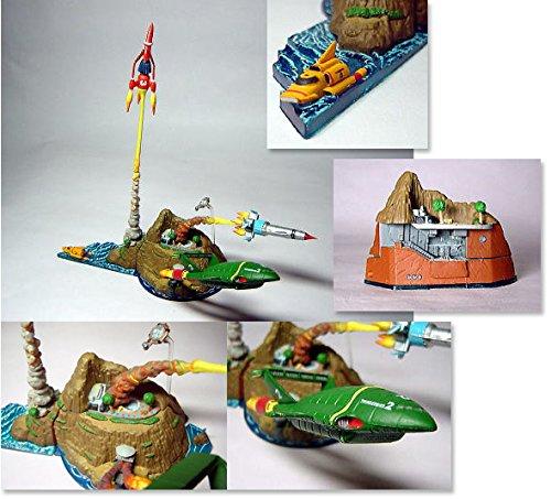 Thunderbirds - Yujin Thunderbirds Tracy Island Trading Figure Art Box Set