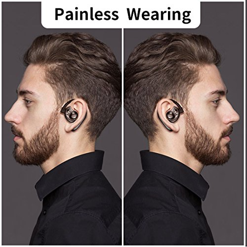 AMINY U-Two Earbuds Wireless Headphones with Microphone True Wireless Earbuds Waterproof IPX6 Bluetooth Earbuds Wireless Headsets Noise Cancelling Bluetooth Headsets