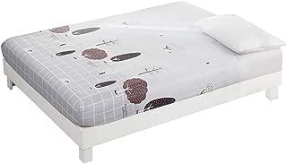 laamei' Funda de colchón A Prueba de Polvo Antideslizante