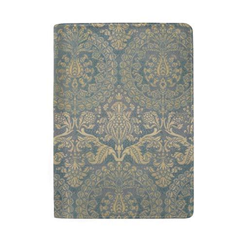 Catherine Aragon - Funda para pasaporte, color azul y dorado