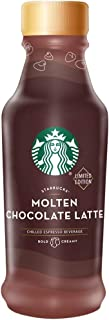 Starbucks Iced Espresso 14 Fl Oz Bottles (Molten Chocolate Latte, 6 Bottles)