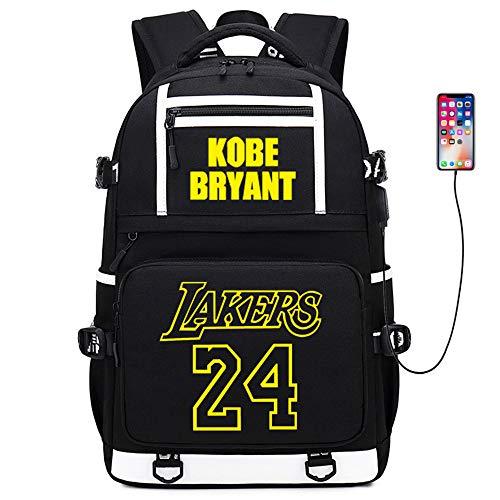 Basketballspieler Star Kobe Multifunktionsrucksack Reiseschüler Rucksack Fans Schultasche (Stil 5)