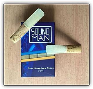 10 Soundman® Cañas de Lengüeta para Saxofón Tenor (1,5)