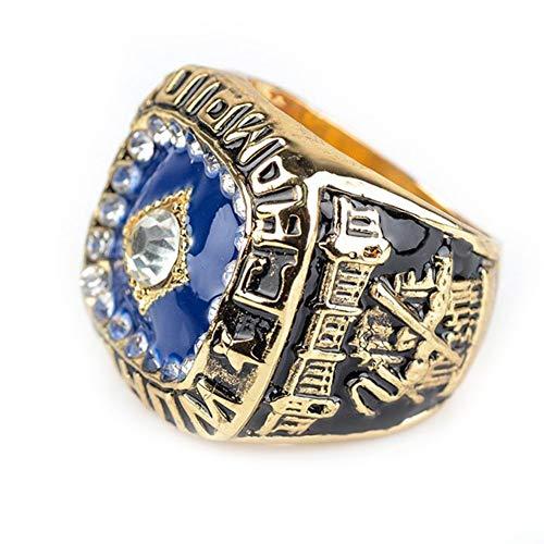 Fei Fei MLB 1978 New York Mets Championship Ring Anillos de Hombre, Championship Anillo de réplica Personalizado Anillos de Diamantes para Hombres,with Box,11