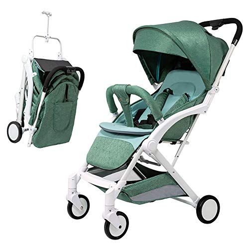 Lowest Price! AMENZ Strollers Trolley Trolley Cot Twin Pushchair Small Foldable Multi Function Two W...